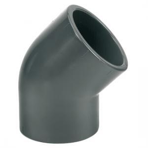 Coude PVC 45° à coller